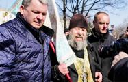 Видеофакт: Массовые задержания 25 марта на площади Якуба Коласа