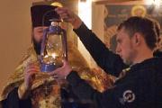 Вифлеемский огонь мира и дружбы отправится сегодня из Витебска в Смоленск и Москву
