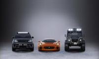 Land Rover и Jaguar показали новые автомобили для «бондианы»