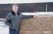 Белорус строит соломенные дома по цене автомобиля