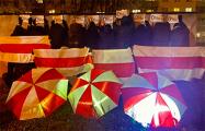 Минчане вышли на вечерние протесты
