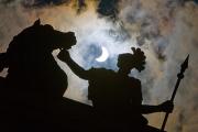 Жители России увидят частное солнечное затмение