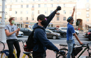 Динамические ситуации во время протестов в Минске