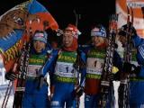 Белорусские биатлонистки выиграли бронзу в эстафете на этапе Кубка мира в Оберхофе