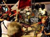 Метание ботинка в греческого премьера осталось безнаказанным