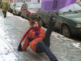 В Минске в борьбе с гололедом и расчистке улиц за минувшие сутки было задействовано 730 машин