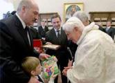 «Прожекторперисхилтон»: Лукашенки в Ватикане (Видео)