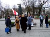 У Празе прайшла акцыя салідарнасьці ў падтрымку народа Беларусі