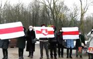 В Минске пенсионеры вышли в поддержку политзаключенных