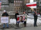 В Праге прошла акция солидарности в поддержку народа Беларуси