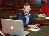 Число читателей видеоблога Медведева превысило 20 тысяч человек