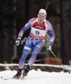Белорусские биатлонисты заняли 11-е место в мужской эстафете на этапе Кубка мира
