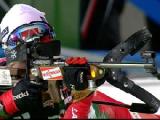 Белорусская биатлонистка Дарья Юркевич завоевала бронзу в индивидуальной гонке на Универсиаде