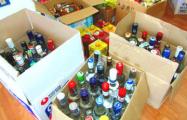 80% нелегального алкоголя в Беларуси поставляется из РФ