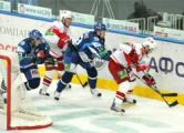 Хоккеисты «Динамо» завершили год победой над «Спартаком»