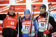 Сергей Новиков занял 60-е место в спринте на этапе Кубка мира по биатлону в Преск-Айле