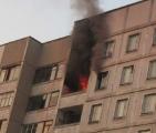 На пожаре в Минске погиб ребенок