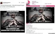«Жертва бомбежки Донбасса» оказалась героиней белорусского фильма