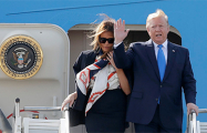 Дональд Трамп прибыл с государственным визитом в Великобританию