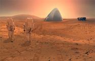 На Марсе построят «ледяной дом»