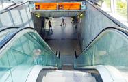 Эскалатор возле ТЦ «Столица» заменят на обычные ступеньки