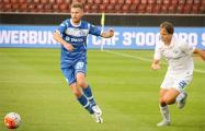 Олег Веретило оригинально попрощался с минским «Динамо» на матче с «Викторией»