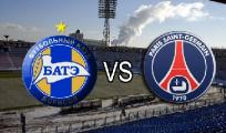 После первого тайма матча Лиги Европы БАТЭ-ПСЖ ничья - 1:1