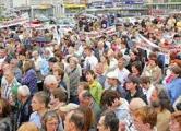 Марш протеста предпринимателей перенесен