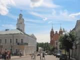 На вокзалах Вильнюса рассказывают о событиях в Беларуси