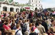 Марш Студентов пришел на Немигу