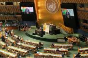 Мясникович в ООН выступал перед полупустым залом