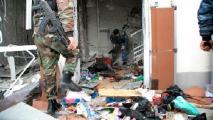 Отрощенков в составе живого тарана пытался проникнуть в здание Дома правительства
