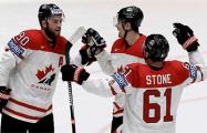 Канадцы разгромили шведов и встретятся в 1/2 финала с командой США