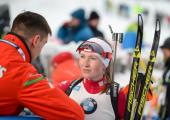 Белорусские биатлонистки оказались шестыми на Кубке мира