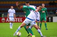 Лига Европы: Минское «Динамо» - «Рапид» 0:1 после первого тайма
