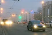 Сильный туман в Беларуси: видимость от 100 метров
