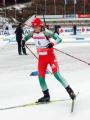 Надежда Скардино заняла 16-е место в спринте на чемпионате мира по биатлону
