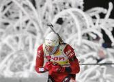 Евгений Абраменко занял 26-е место в индивидуальной гонке на чемпионате мира по биатлону