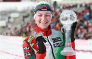 Домрачева завоевала бронзу в спринте на этапе Кубка мира