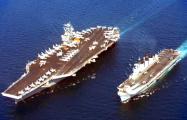 AP: Американский атомный авианосец вошел в Персидский залив