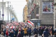 В Минске пенсионеры вышли на Марш мудрости
