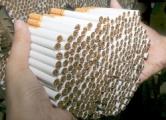 Товарный поезд из Бреста вез в Польшу 60 тысяч пачек сигарет