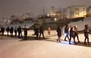 Жители района на западе Минска вышли на марш