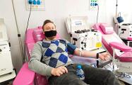 Минчанин пришел сдать плазму крови и узнал, что перенес COVID-19