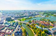 Как выглядит Минск с борта МКС