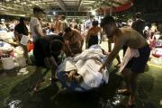 СМИ узнали о первом умершем от ран при взрыве в аквапарке на Тайване
