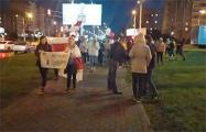 Жители Лошицы вышли на традиционное шествие