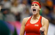 Арина Соболенко выбыла в полуфинале турнира в Страсбурге