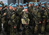В Минск прибыли российские десантники