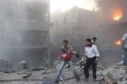 Десятки мирных жителей стали жертвами авианалета в Сирии